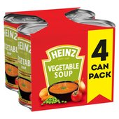 Heinz Classic Vegetable Soup 4 Pack