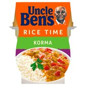 Uncle Bens Rice Time Korma Ready Meal Pot