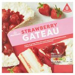 Morrisons Strawberries & Cream Gateau