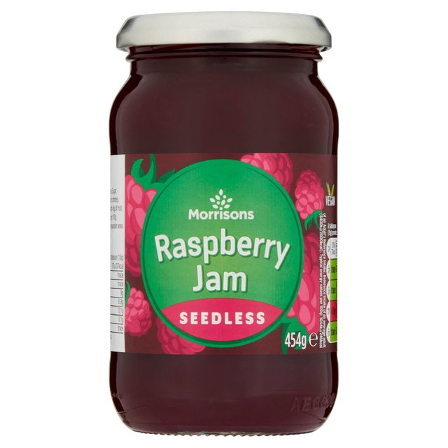 Morrisons Seedless Raspberry Jam