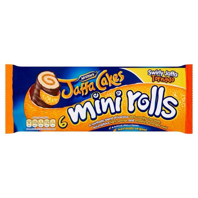 McVitie's Jaffa Cakes Mini Rolls
