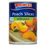 Princes Peach Slices with Grape Juice (410g)