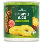 Morrisons Pineapple Slices In Juice (425g)