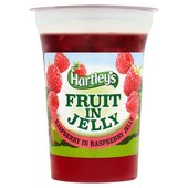 Hartley's Fat Free Raspberries in Jelly Pot