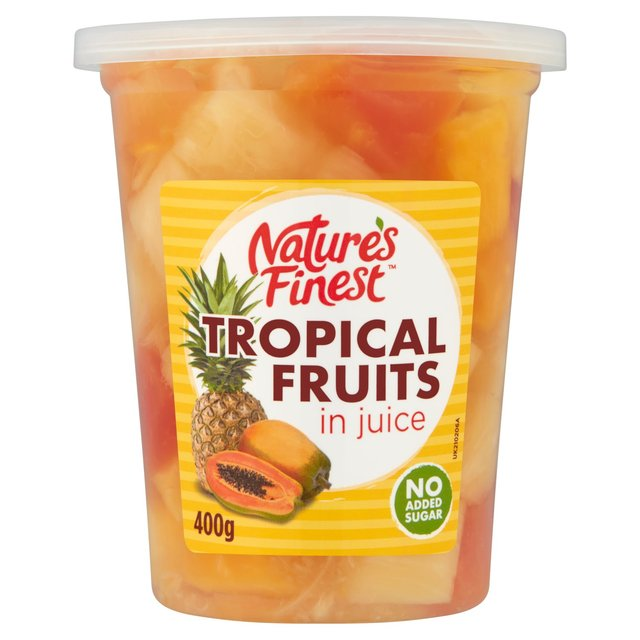 Nature's Finest Tropical Fruit in Juice (400g)
