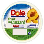 Dole Fruit in Custard Peach