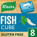 Knorr Stock Cubes Fish 8 x 10g