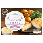 Morrisons 4 Garlic & Herb Chicken Steaks