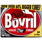 Bovril Beef Stock 12 Cubes