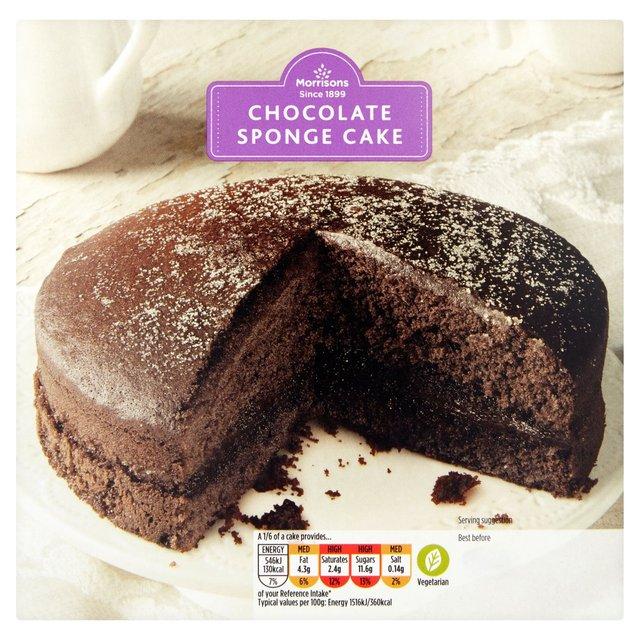 Morrisons: Morrisons Chocolate Sponge Cake (Product ...