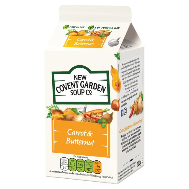 New Covent Garden Carrot & Butternut Squash Soup