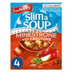 Batchelors Slim a Soup with Croutons Minestrone 4 Sachets
