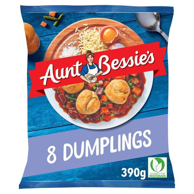 Aunt Bessie's 8 Dumplings