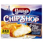 Youngs Chip Shop 4 Large Battered Cod Fillets