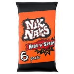 Nik Naks Assorted Flavour Snacks Multipack