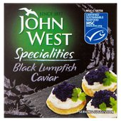 John West Select Black Lumpfish Caviar