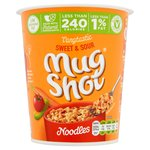 Mug Shot On the Go! Spicy Sweet & Sour Flavour Noodles