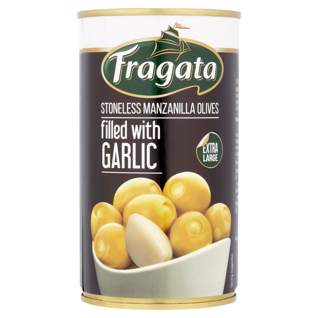 Fragata Olives Stuffed With Garlic (350g)