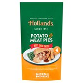 Holland's Potato & Meat Pies