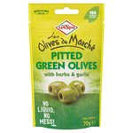 Crespo Marche Green Olives With Herb & Garlic
