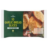 Morrisons 10 Garlic Bread Slices