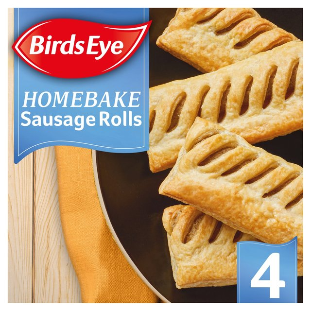 Birds Eye 4 HomeBake Sausage Rolls