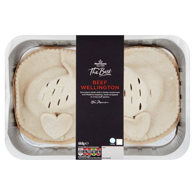 Morrisons: Morrisons The Best Beef Wellington 444g(Product Information ...