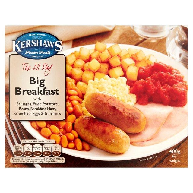 Kershaws The All Day Big Breakfast