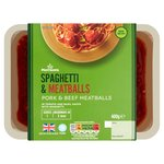 Morrisons Italian Spaghetti and Meatballs