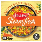 Birds Eye 2 Golden Vegetable Rice