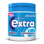 Wrigley's Extra Peppermint Chewing Gum 60 Pack