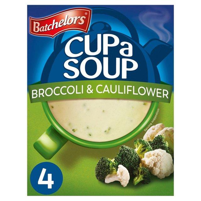 Batchelors Cup a Soup Broccoli & Cauliflower 4 Sachets