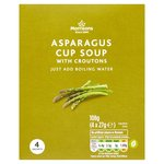 Morrisons Asparagus Cup Soup with Croutons