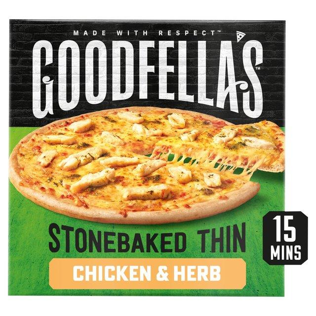 Goodfella's Stonebaked Thin Roast Chicken Pizza