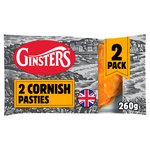 Ginsters Cornish Pasties 2 pack