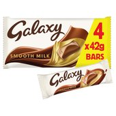 Galaxy Milk Chocolate Multipack Bars