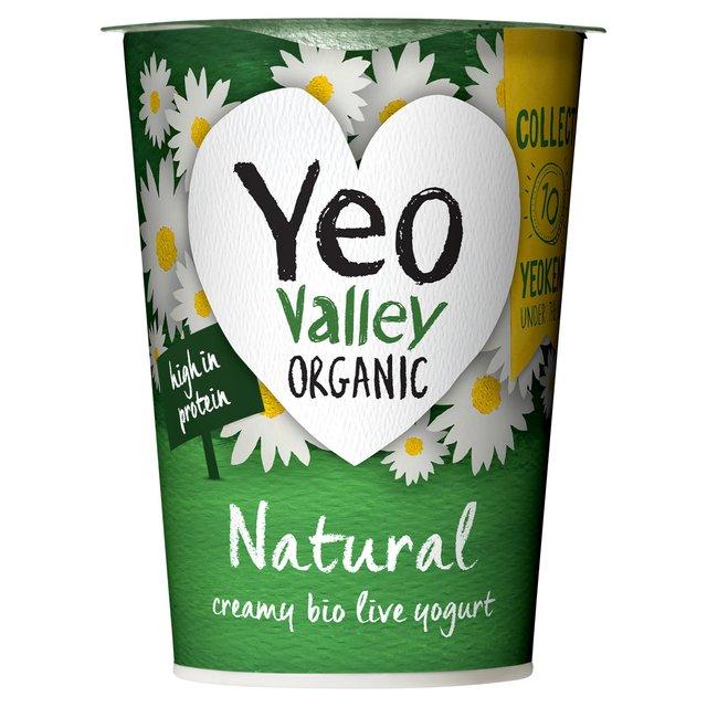 Yeo Valley Organic Natural Whole Milk Yogurt