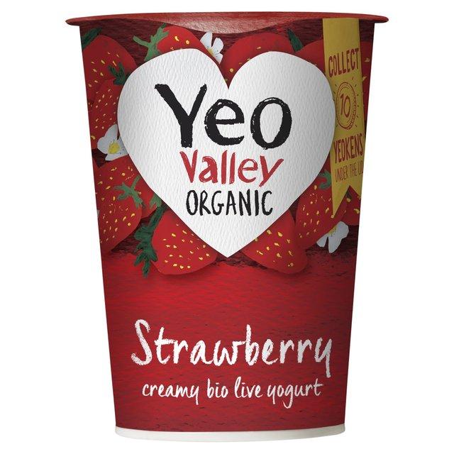 Yeo Valley Organic Strawberry Yogurt