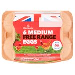 Morrisons Free Range Eggs Medium