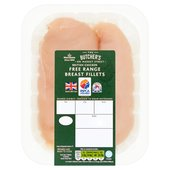 Morrisons Market Street Free Range Chicken Breast Fillets