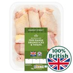 Morrisons Free Range British Chicken Drums & Thighs