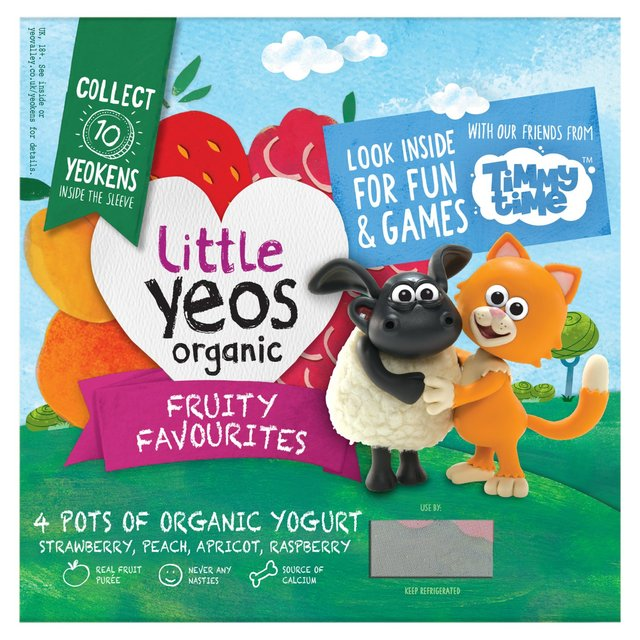 Yeo Valley Kids Organic Little Yeos Yogurt