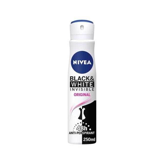 Nivea Black & White Invisible Spray