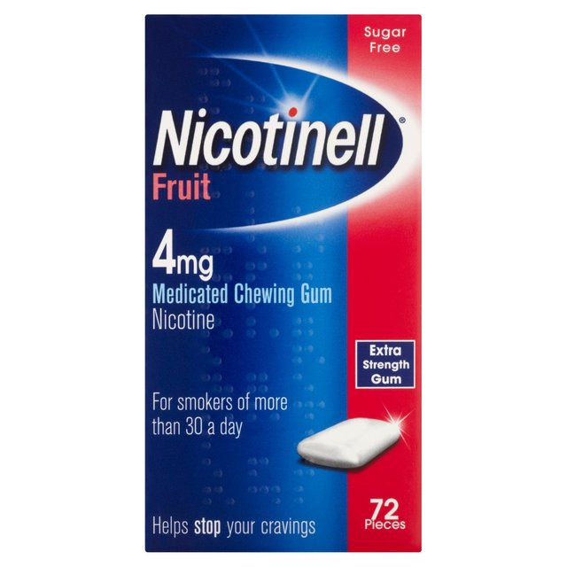 Nicotinelll Fruit Gum 4MG