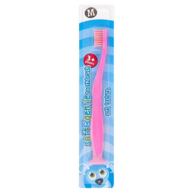 M Just for Kids 3-6 Toothbrush (Blue or Pink)