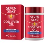 Seven Seas High Strength Cod Liver Oil Capsules
