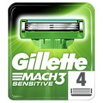 Gillette Mach 3 Sensitive Power Razor Blades