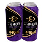 Strongbow Dark Fruit Cider Cans