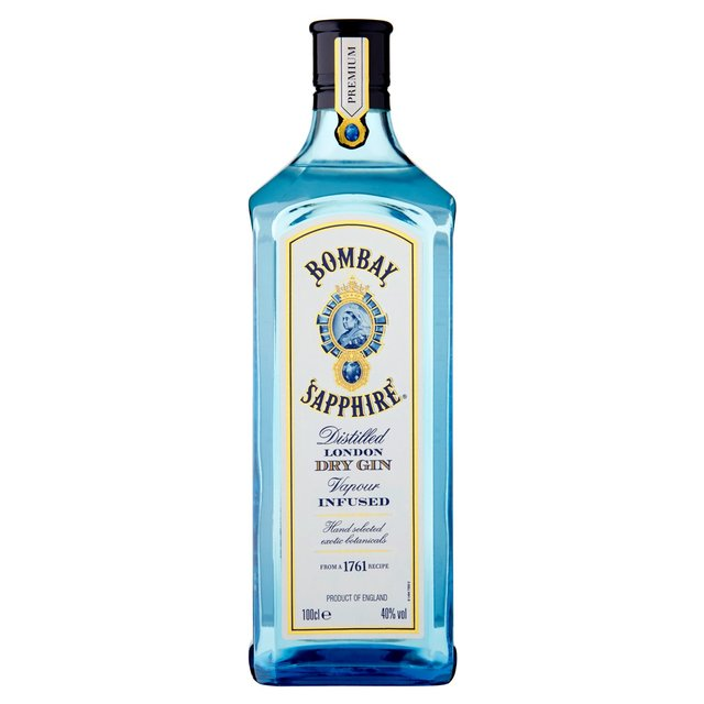 Morrisons Bombay Sapphire London Gin 1l Product Information
