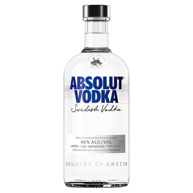 Morrisons: Absolut Vodka 70cl(Product Information)
